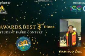 Membanggakan, Mahasiswa Pertambangan ITNY Raih Juara di SPC TPT XXIX Perhapi 2020