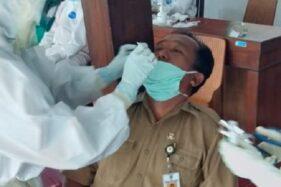 Ada Kasus Covid-19 di Pasar Sidoharjo Wonogiri, Ratusan Pedagang Jalani Tes Swab