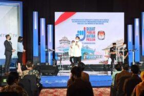 Debat Publik Pemilihan Wali Kota Solo 2020, Jumat (6/11/2020). Gibran Rakabuming Raka-Teguh Purnomo dan Bagyo Wahyono-Supardjo. (Nicolous Irawan/Solopos)