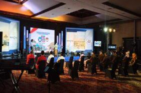 Suasana venue debat Pilkada Solo 2020 di Hotel Sunan, Jumat (6/11/2020) malam. (Solopos/Nicolous Irawan)