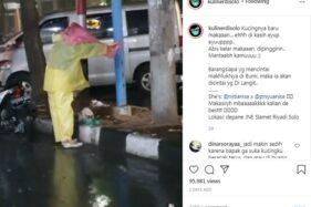 Viral Wanita di Solo Payungi Kucing Saat Kehujanan, Ini Cerita Sebenarnya