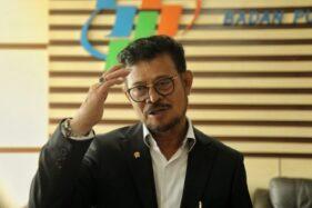 Syahrul Yasin Limpo Isi Posisi Menteri KKP