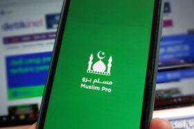Aplikasi Muslim Pro. (detik.com)