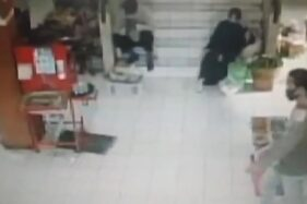 Maling Berambut Gondrong Terekam CCTV Bawa Kabur 70 Celana Kolor di Pasar Gading Solo