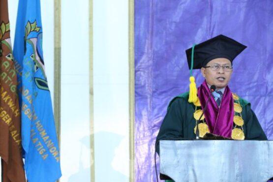 Rektor Institut Agama Islam Negeri (IAIN) Salatiga, Prof. Dr. Zakiyuddin Baidhawy. (Istimewa)