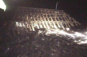 Hujan dan Angin Robohkan 1 Rumah di Sragen, 1 Rumah Lainnya Rusak Tertimpa Pohon