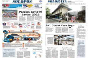 Solopos Hari Ini: Pandemi Covid-19 Sampai 2022