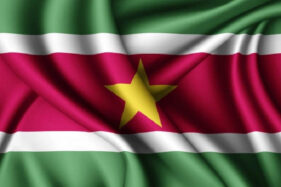 Bendera Suriname. (Freepik)