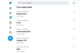 Tagar #IndonesiaTerserah Naik Lagi, Gegara Hajatan Habib Rizieq?