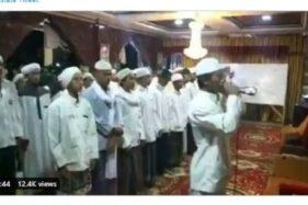 Foto tangkapan layar video azan ajakan jihad yang bikin geger. (suara.com)