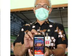 Aplikasi Adminduk Klaten (Solopos.com/Taufiq Sidik Prakoso)