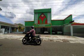 Rumah Sakit PKU Muhammadiyah yang berlokasi di Kecamatan Wonogiri. Rumah sakit itu bakal digunakan untuk tempat isolasi pasien Covid-19. Foto diambil Kamis (3/12). (Solopos.com/M. Aris Munandar)