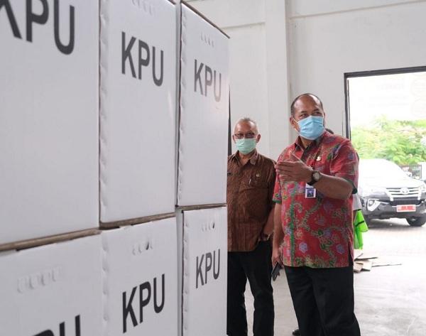 Jelang Coblosan, Pjs Bupati Klaten Cek Kesiapan KPU dan Bawaslu