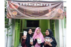 Kedai Seblak Ambyar di Jl. Padjajaran Barat 1 No. 55 Kelurahan Sumber, Kecamatan Banjarsari, Solo, Kamis (3/12/2020). (Solopos.com/Solopeduli)