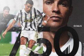 Rangkaian foto peringatan 750 gol di sepanjang karier Cristiano Ronaldo. (Instagram-@cristiano)