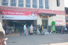 Vaksinasi Pedagang Pasar Gede dan Klewer Solo Akhir Pekan Ini Dibuka Wali Kota Baru