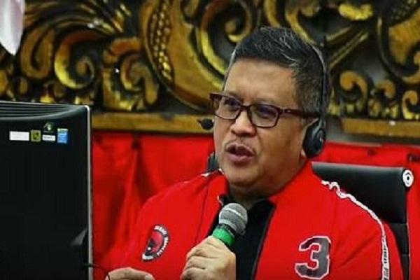 Sekjen PDIP Hasto Kristiyanto. (Bisnis-Nancy Junita)