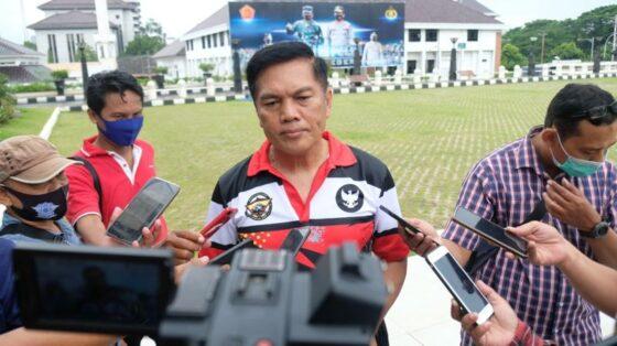 Kabidhumas Polda Jateng, Kombes Pol. Iskandar F. Sutrisna, saat dijumpai wartawan di Mapolda Jateng, Kota Semarang, Jumat (11/12/2020). (Semarangpos.com-Imam Yuda S.)