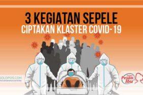 Selama April, Tiga Klaster Covid-19 Muncul di Kabupaten Semarang
