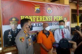 Lagi Hisap Ganja, Seorang Kades di Grobogan Ditangkap Polisi