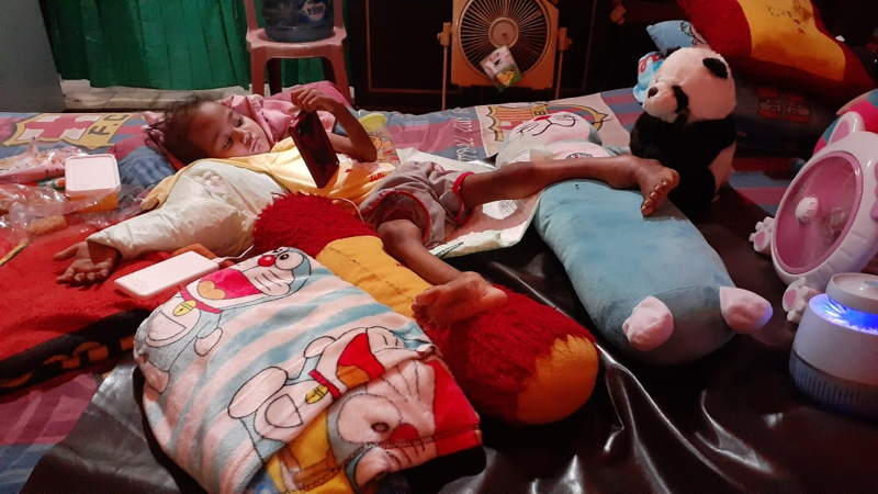 Kondisi Syafa, Bocah Penderita Kanker Tulang di Madiun Kian Parah, Keluarga Minta Doa