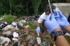 Dicari Polisi! Pembuang Limbah Medis di Karanganyar Masih Misterius