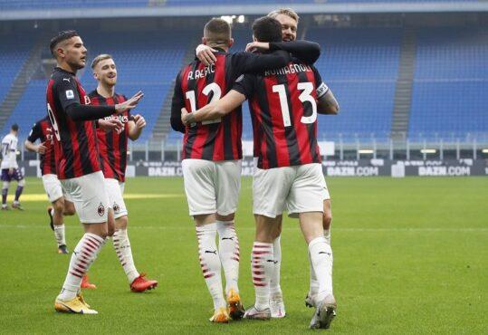 AC Milan Kembali ke Jalur Kemenangan Seusai Tundukkan Beneveto