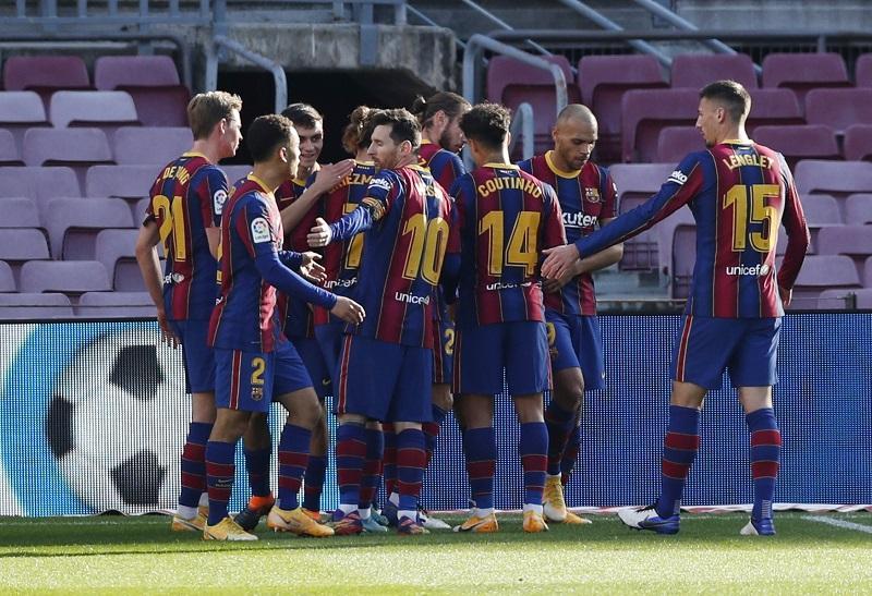 Messi Tak Main karena Cedera, Barca Ditahan Imbang Eibar 1-1