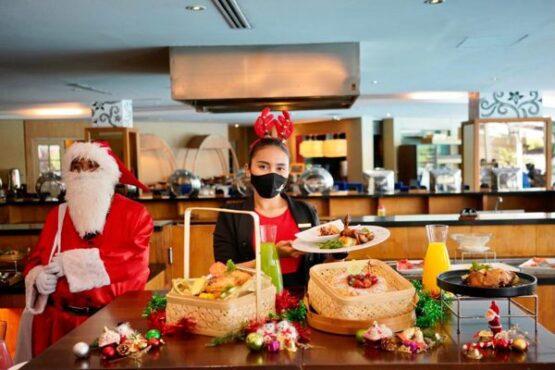 "The Sunan Hotel Solo meluncurkan paket makan malam yang bertajuk ""The Hope Of Christmas Dinner"". (istimewa)"