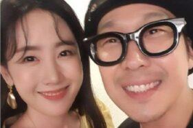 Byul dan Ha Ha rayakan perayaan ulang tahun pernikahan kedelapan. (Soompi)