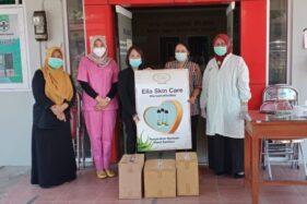 Ella Skin Care Salurkan 8.736 Hand Sanitizer ke 26 Rumah Sakit