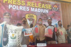 Pengedar Pupuk Subsidi Aspal di Madiun Dibekuk Polisi