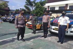 Operasi Polisi di Karanganyar, Kerumunan Dibubarkan & Motor Brong Disita