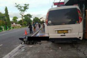 Warga Jebres Solo Meninggal Tertabrak Minibus di Wonogiri Saat Hendak Nyekar Makam Suami