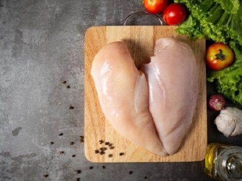 Ilustrasi daging ayam. (Freepik)