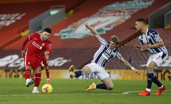 Liverpool vs West Bromwich Albion (REUTERS-Clive Brunskill)