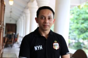 Manajer Bhayangkara Solo FC, I Nyoman Yogi Hermawan. (Istimewa)