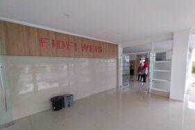 Gedung Eidelweis RSUD Waras Wiris, Kecamatan Andong, Kabupaten Boyolali, disiapkan untuk menampung pasien Covid-19, Selasa (1/12/2020). (Solopos.com/Bayu Jatmiko Adi)