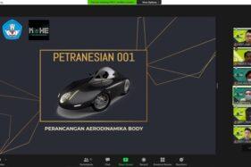 Rancangan Mobil Petranesian 001 Karya Mahasiswa UK Petra Juara II Kontes Mobil Hemat Energi 2020