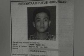 Jadi Beban Keluarga, Pria Sumut Dicoret dari Keluarga, Begini Kisahnya...