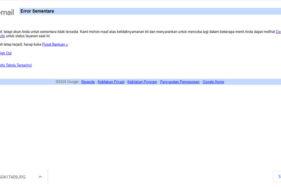 Google Down! Youtube, Gmail, Play Store Tak Bisa Diakses