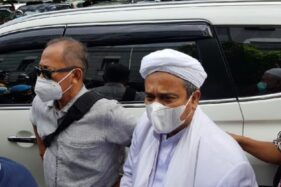Berkas Rizieq Syihab Dilimpahkan Bareskrim Polri ke Kejaksaan Agung