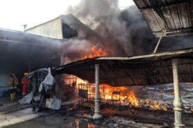2 Rumah Plus 1 Toko di Weru Sukoharjo Ludes Terbakar, Ini Penyebabnya