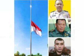 Doa Mengalir untuk Anggota Polri & TNI Korban Kecelakaan Mobil Dihantam KA di Sragen