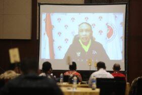 Menteri Pemuda dan Olahraga (Menpora) Zainudin Amali mendorong sinergitas percepatan pembangunan persepakbolaan nasional. (istimewa)
