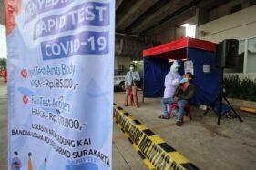 Didominasi Masyarakat Umum, Sehari 400 Orang Jalani Tes Cepat Antigen Di Bandara Solo