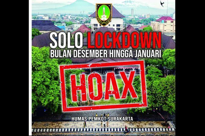 Kapolresta: Kabar Solo Lockdown Hoaks