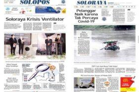Solopos Hari Ini: Soloraya Krisis Ventilator