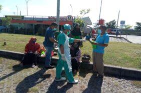 Istirahat di Rest Area Sragen, Pemudik Jalur Tol Dapat Edukasi Protokol Kesehatan