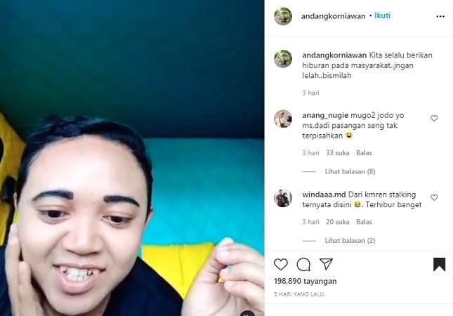 Tampil Bak Selebgram, Pria Asal Jogja Widodo Resmi Jadi Idol Akhir Tahun 2020